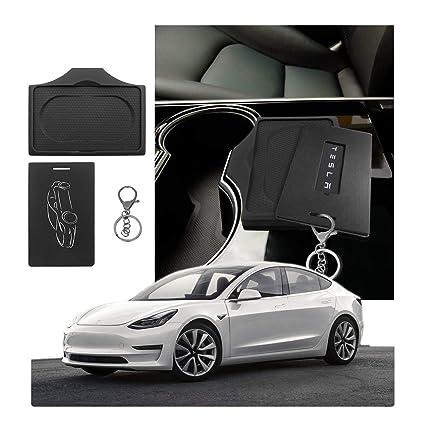 CDEFG - Llavero con Funda para Llave y Llavero para Tesla Model 3 ...
