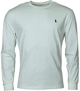 Polo Ralph Lauren Men S Long Sleeve Pony Logo T Shirt Small Dark