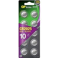 GP Extra Lithium batterijen CR2025 knoopcel batterij 3V - 10 pack