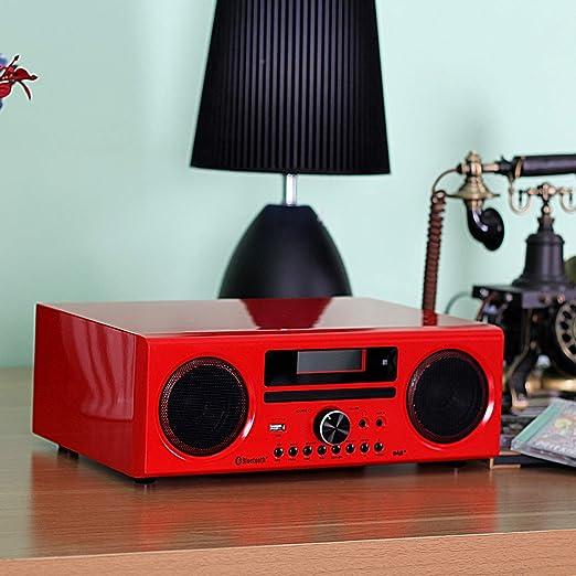 DLITIME Dab+/FM DSP Radio Reproductor de CD de Alta Fidelidad ...