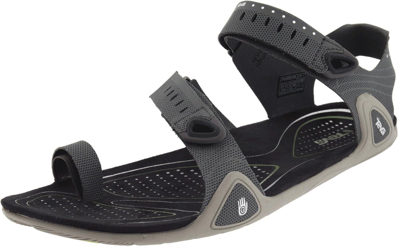 15e191019 Amazon.com  Teva Zilch Sandal - Men s Sandals 10 Black  Clothing