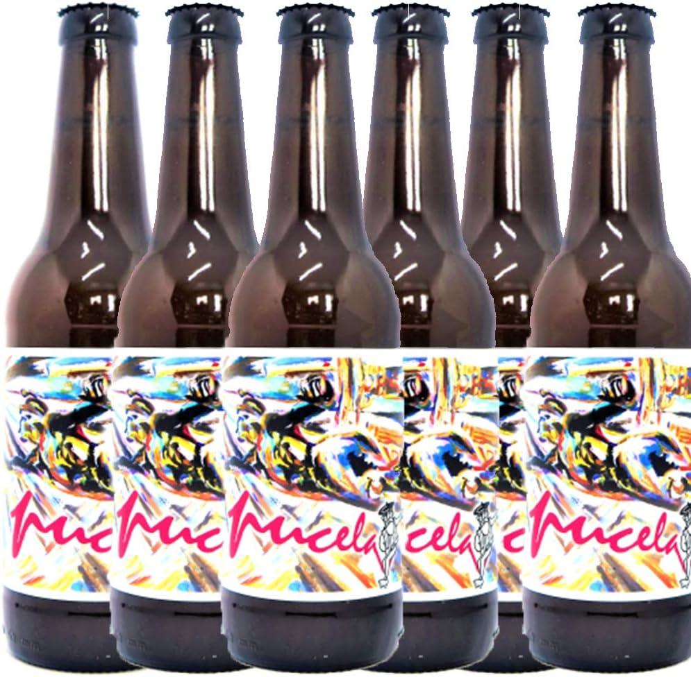Cerveza Milana Pucela (Pack 12 botellines, 33 cl.): Amazon.es: Alimentación y bebidas