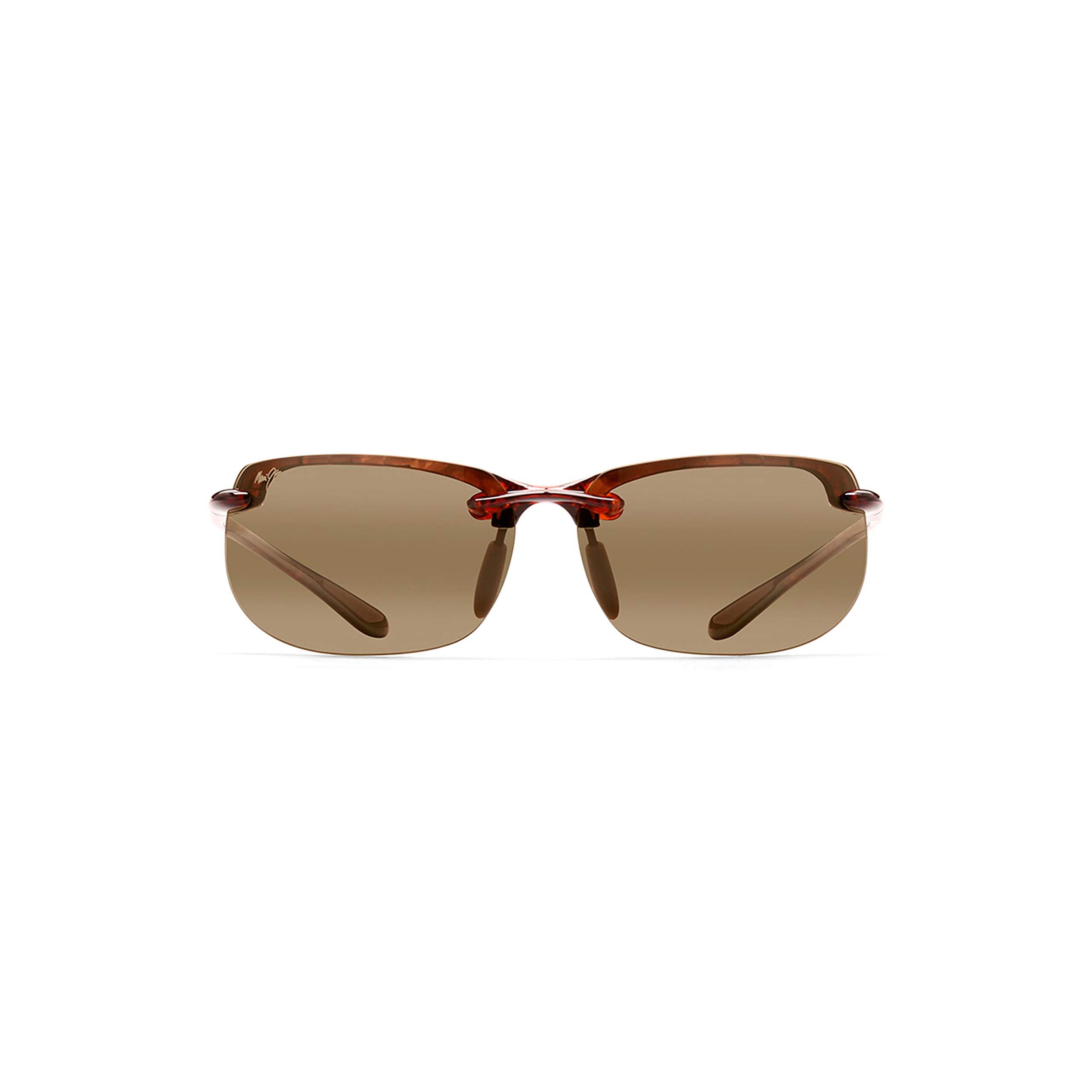 Maui Jim Sunglasses | Banyans H412-10 |, HCL Bronze Lenses, with Patented PolarizedPlus2 Lens Technology by Maui Jim
