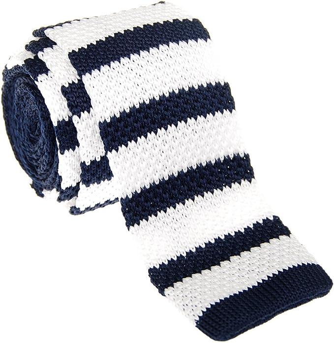 Retreez - corbata vintage de punto, elegante, informal, de 5 cm ...
