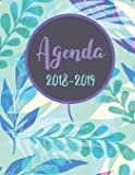 """Agenda 2018-2019: Daily Weekly and Monthly Planner, Agenda Schedule Orgaizer Logbook, 8.5""""x11"""" sized,108 Pages: Volume 1"""