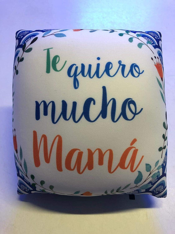 LInformal Cojín antiestrés pequeño Te Quiero Mucho mamá ...