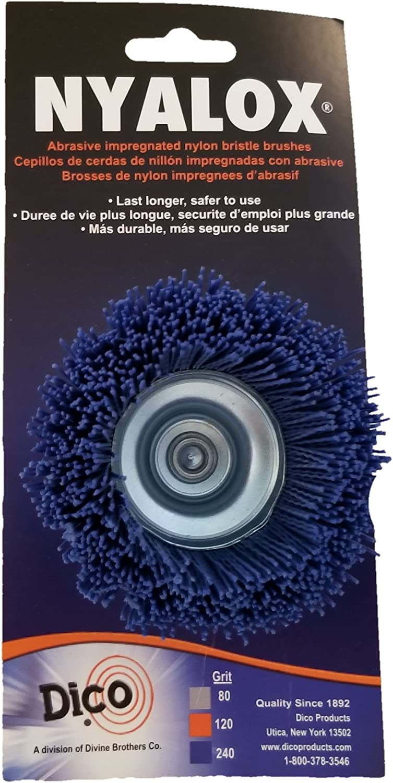 B00004YYD2 Dico 541-786-21/2 Nyalox Cup Brush 21/2-Inch Blue 240 Grit 71PRvecnZOL