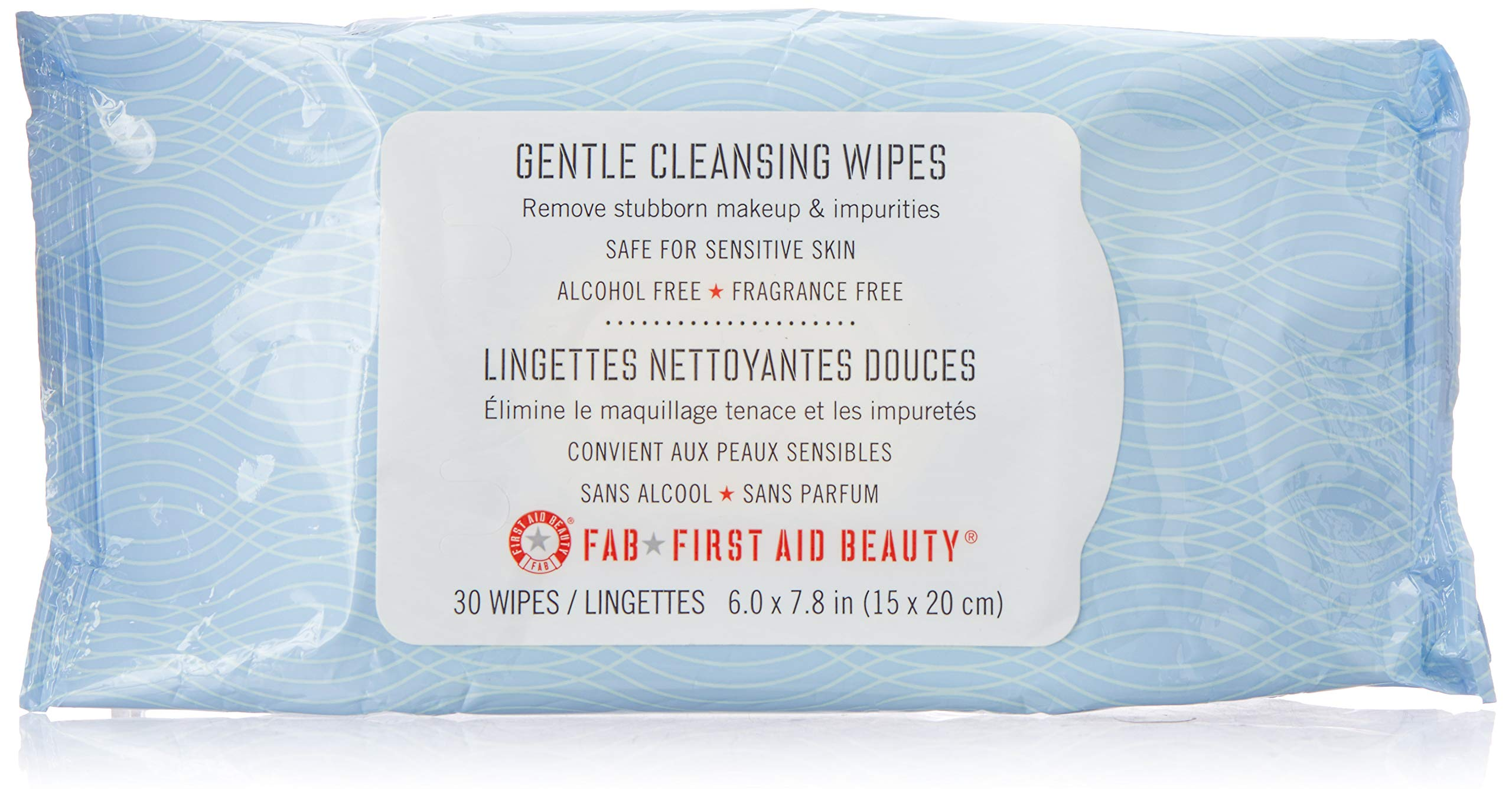 First Aid Beauty Gentle Cleansing Wipes, 30 Count by First Aid Beauty