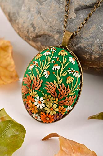 Handmade Pendant Clay Pendant Fashion Accessory Designer bijouterie Best Gift