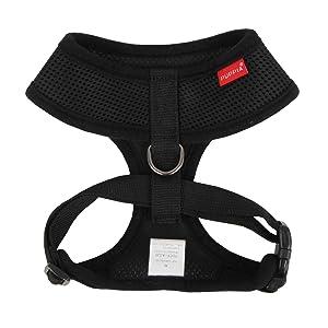 Puppia Soft Harness, XXL, Black