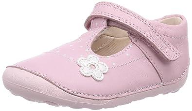 92feb3fbf210ab Clarks Little Linzi, Chaussures Premiers Pas pour bébé (Fille) - Rose - Pink