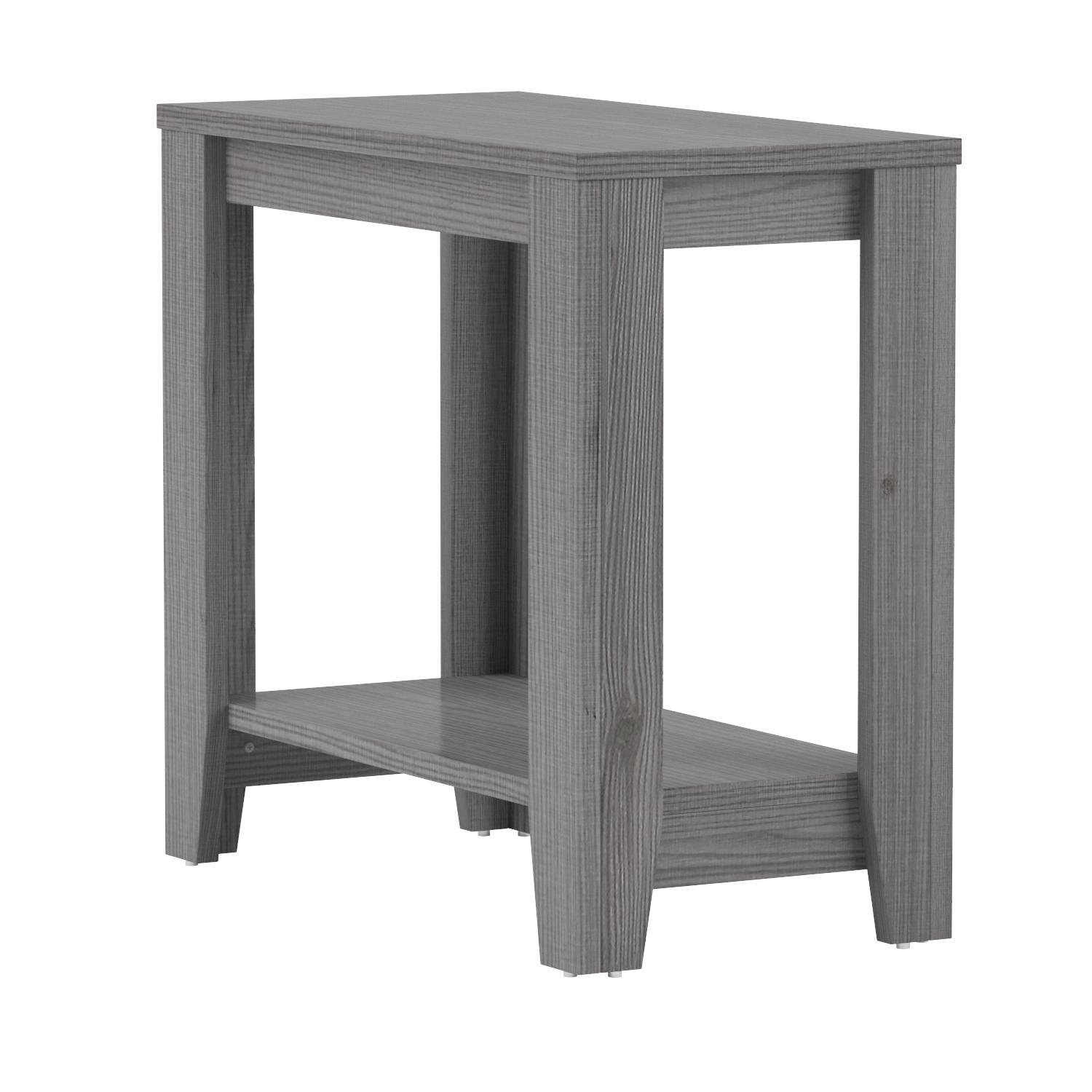 Monarch Accent Table, Grey
