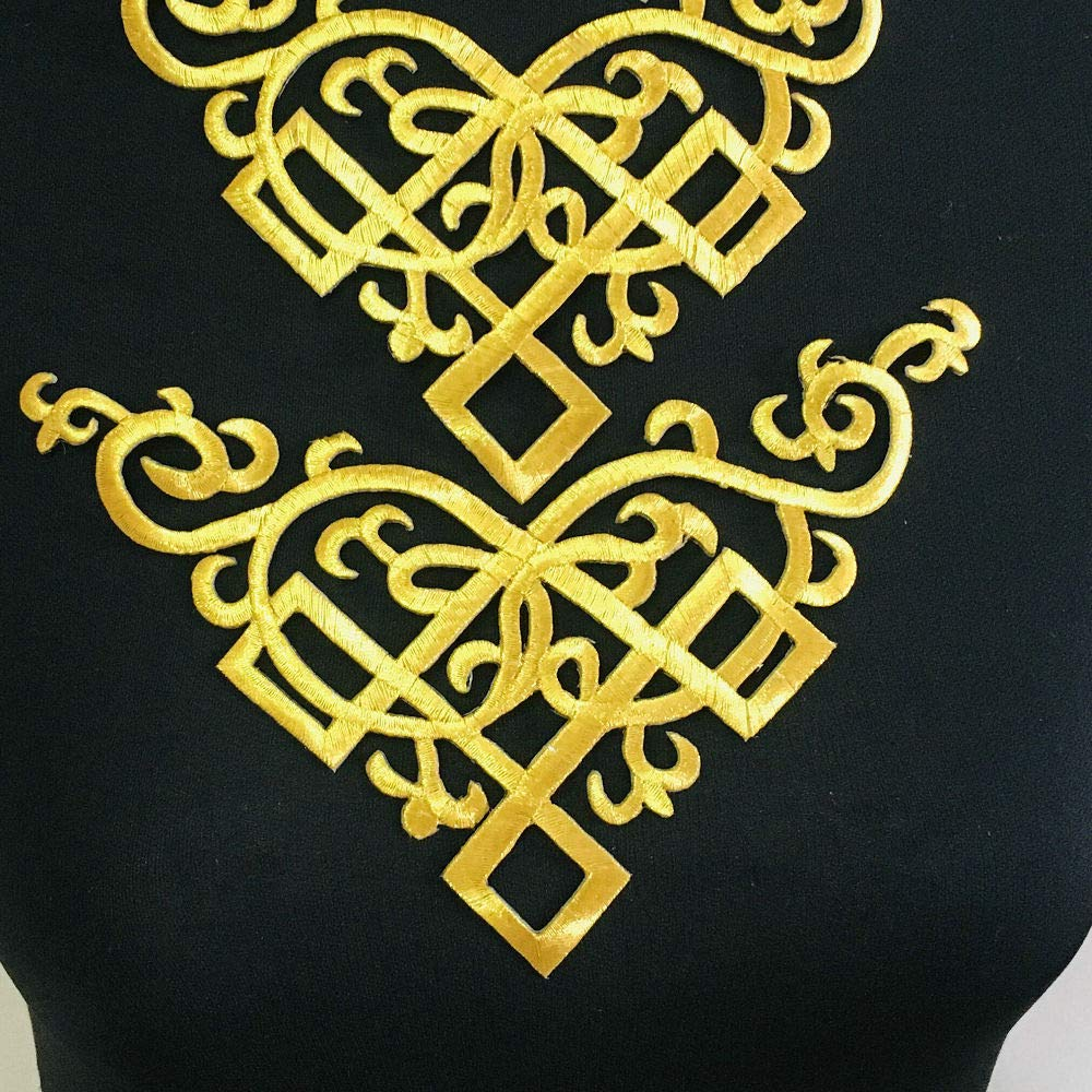 Silve//Gold A Sequin Flower Applique Patches Clothing DIY Embroidery Sticker Blossom