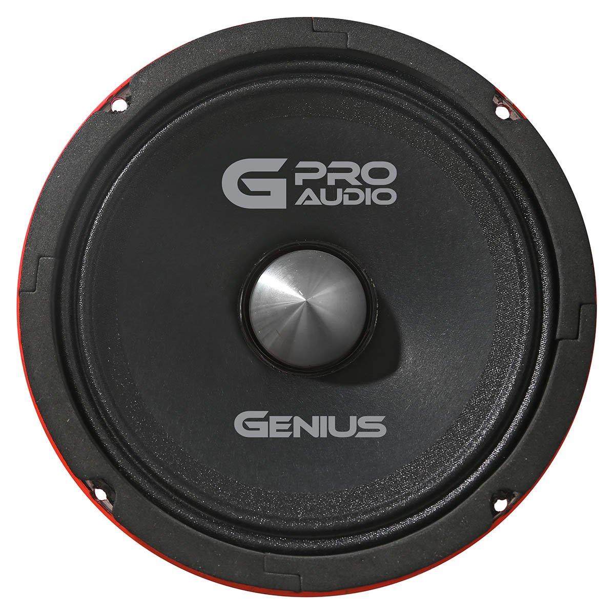 Genius GPRO-M06525 5.25'' 280 Watts-Max Midrange Neodymiun Car Audio Speaker 4-Ohms