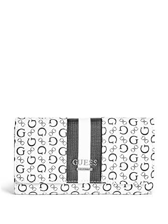 c1535a0fd6 GUESS Factory Women s Honeyville Slim Wallet at Amazon Women s Clothing  store