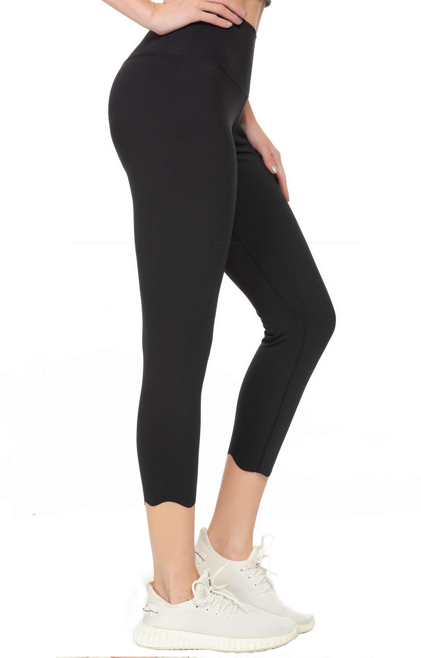 Kcutteyg Yoga Pants for Women with Pockets High Waisted Leggings Workout Sports