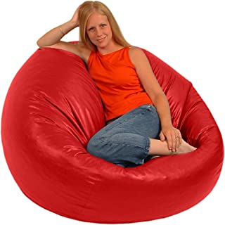 product image for Comfy Bean Beanbag Large Vinyl - Red