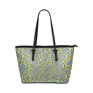 872dce3d6ecc Image Unavailable. Image not available for. Color  Custom Unique Leather  Tote ...