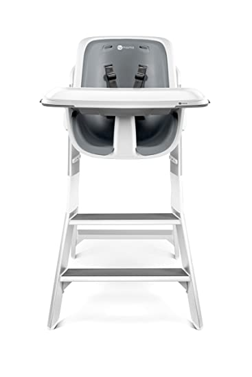 Ordinaire 4moms High Chair   Easy To Clean With Magnetic, One Handed Tray Attachment