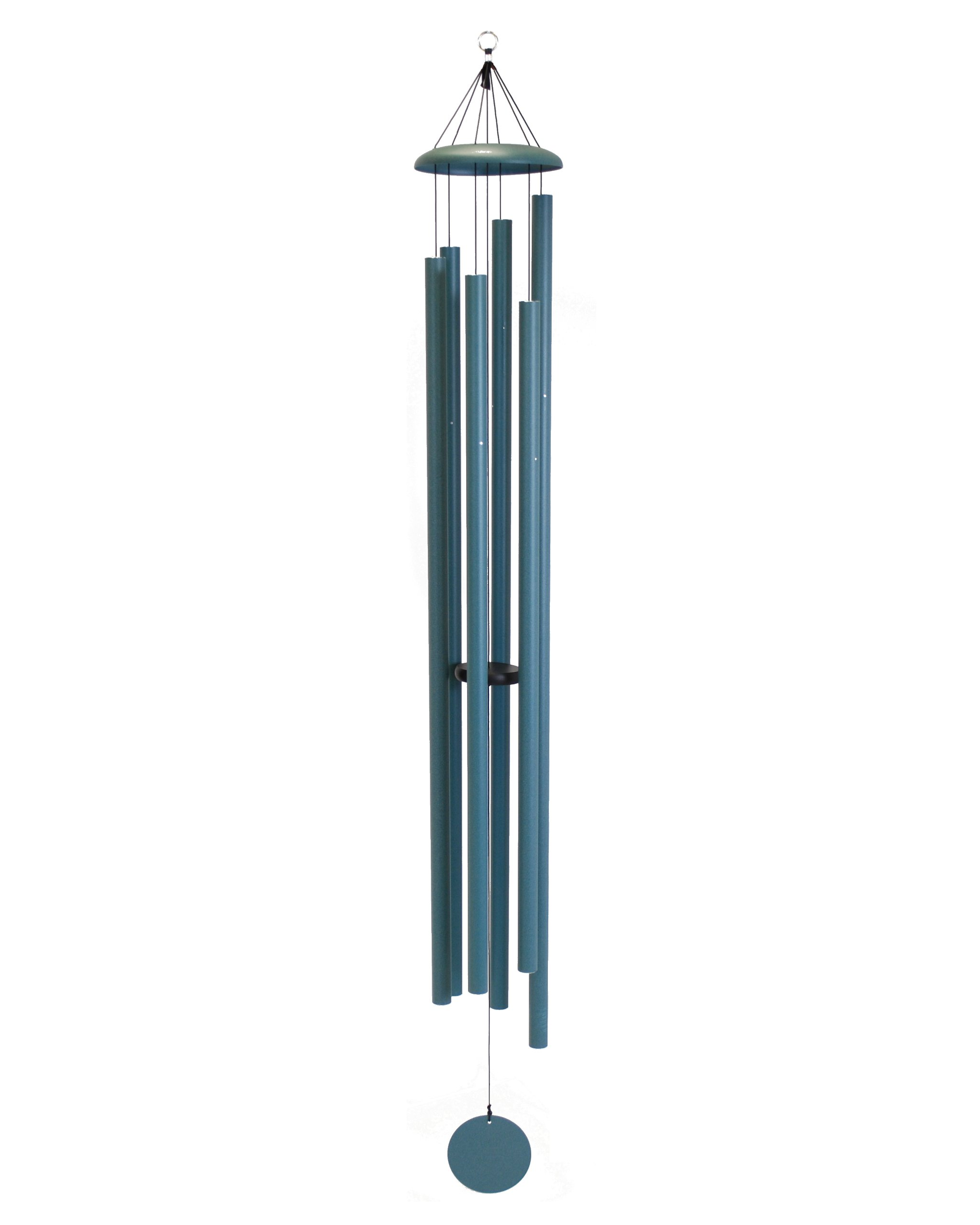 Corinthian Bells 74-inch Windchime, Patina Green