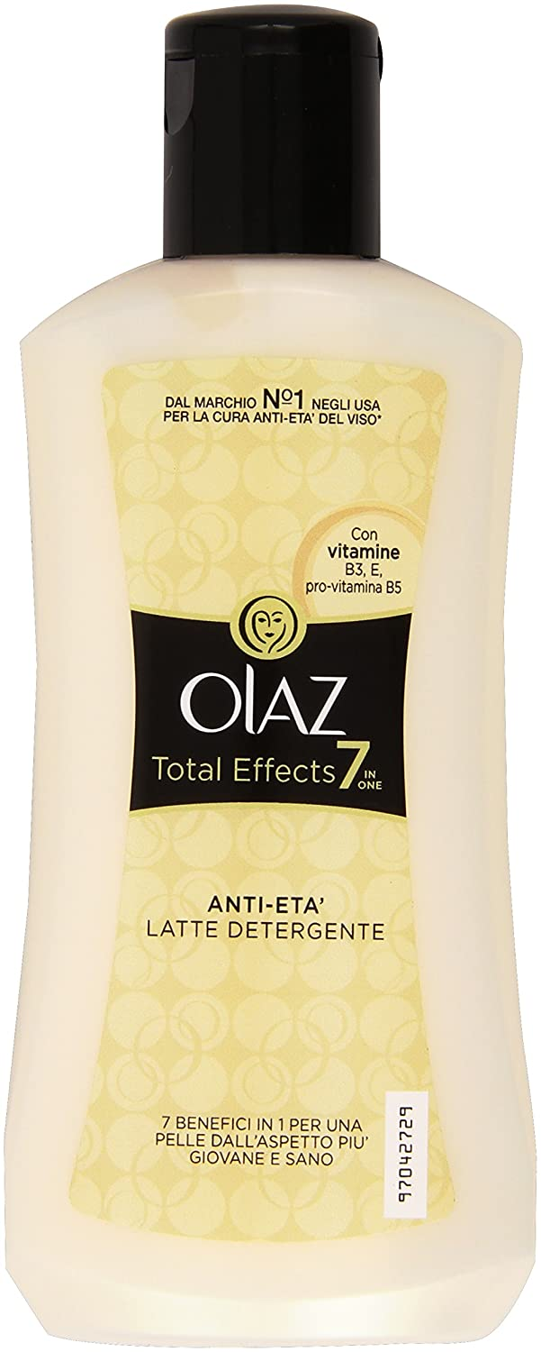 Olaz Total Effects 7 in 1 Latte Detergente da 200 ml Procter & Gamble 5000174621013