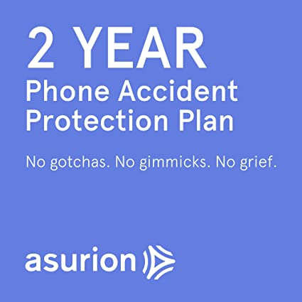 Amazon com: ASURION 2 Year Mobile Accident Protection Plan with Tech