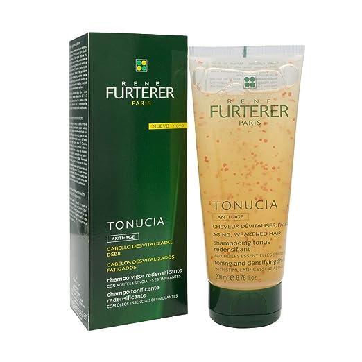 Amazon.com : René Furterer Tonucia Toning And Densifying Shampoo 200Ml - Hair Care - Facilitates The Revitalization - Maximum Hygiene - Spain : Beauty