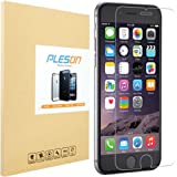 iPhone 6s Plus Screen Protector, PLESON iPhone 6 Plus Tempered Glass Screen Protector, 0.3mm HD Clear/Anti Scratch/Bubble Free Glass Screen Protector for iPhone 6 Plus/6s Plus