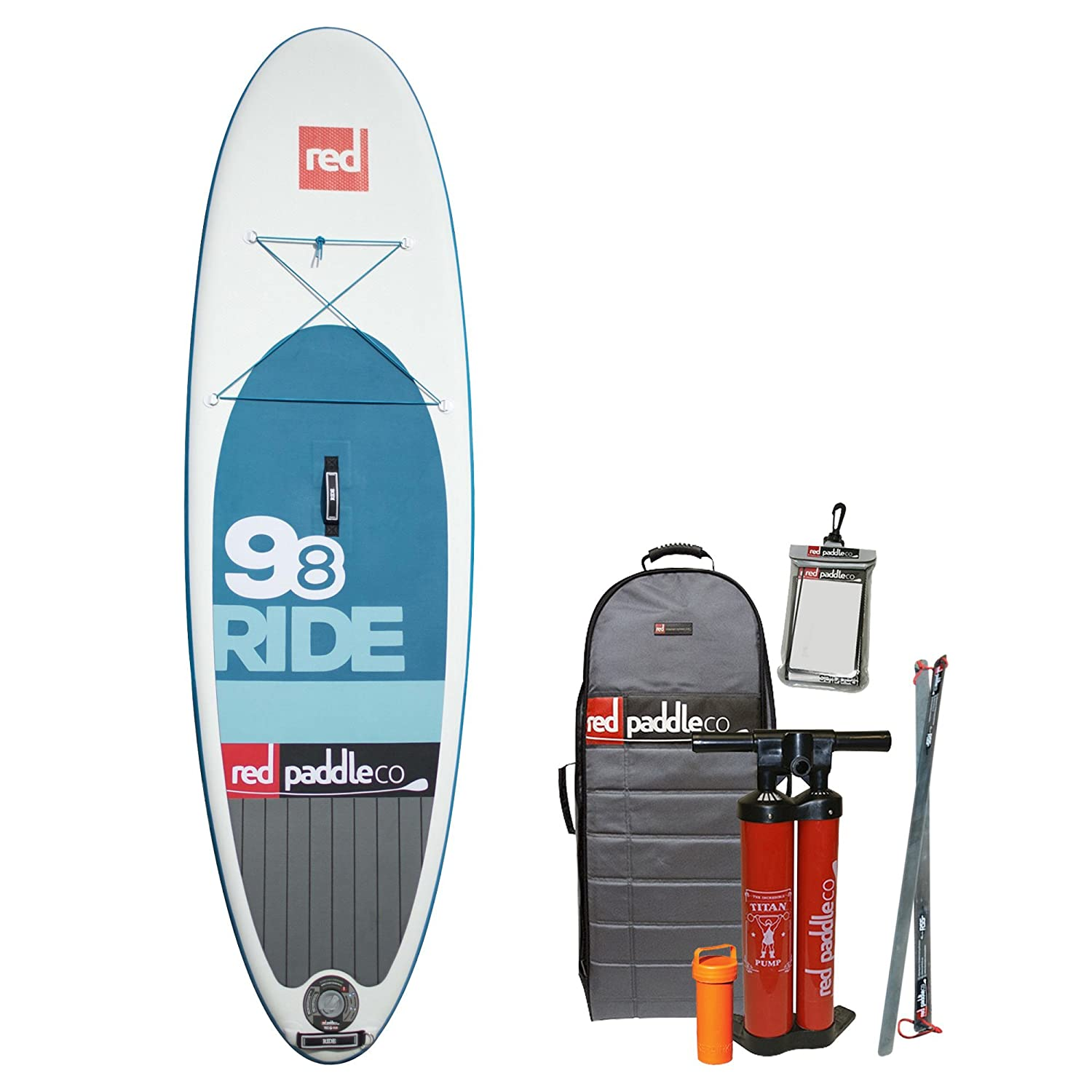 Red Paddle RIDE ISUP Set 10.8/' Familienboard inflatable Stand Up Paddle