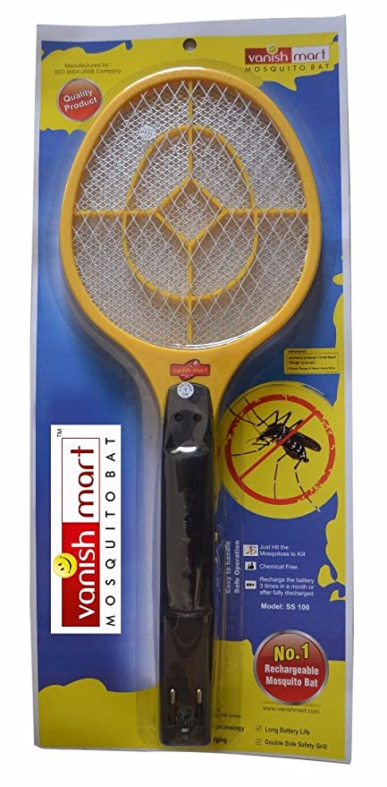 Vanish Mart Mosquito Bat Rechargeable Electronic Mosquito Bat