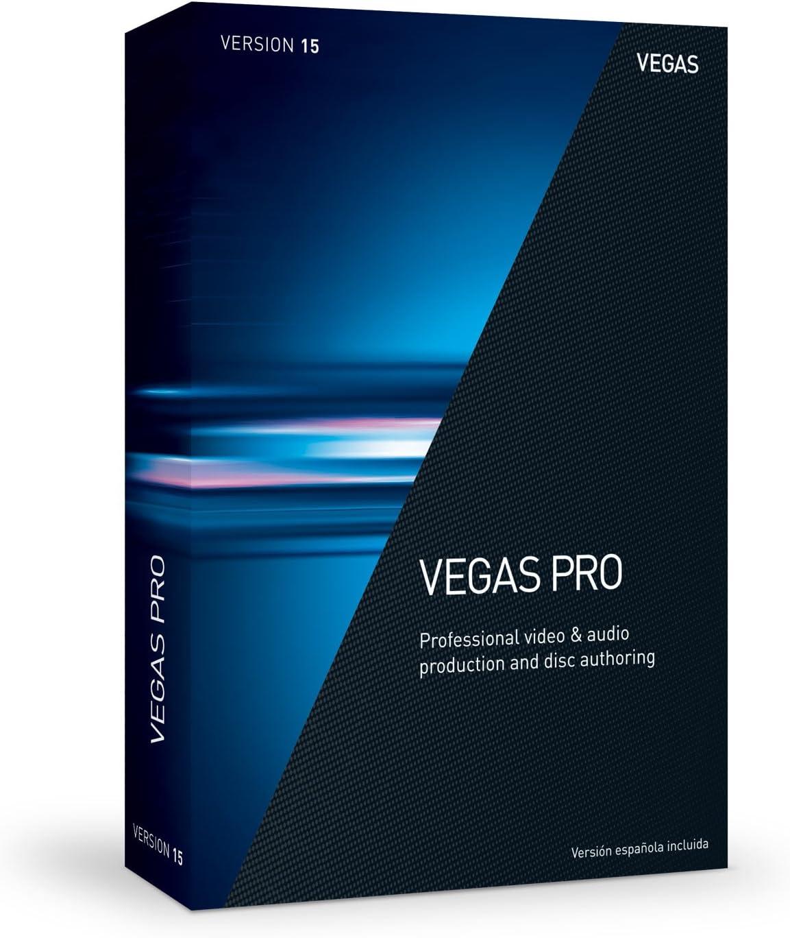 front facing VEGAS Pro 15