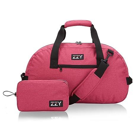 Womens Gym Duffle Bag Small,Foldable Weekender