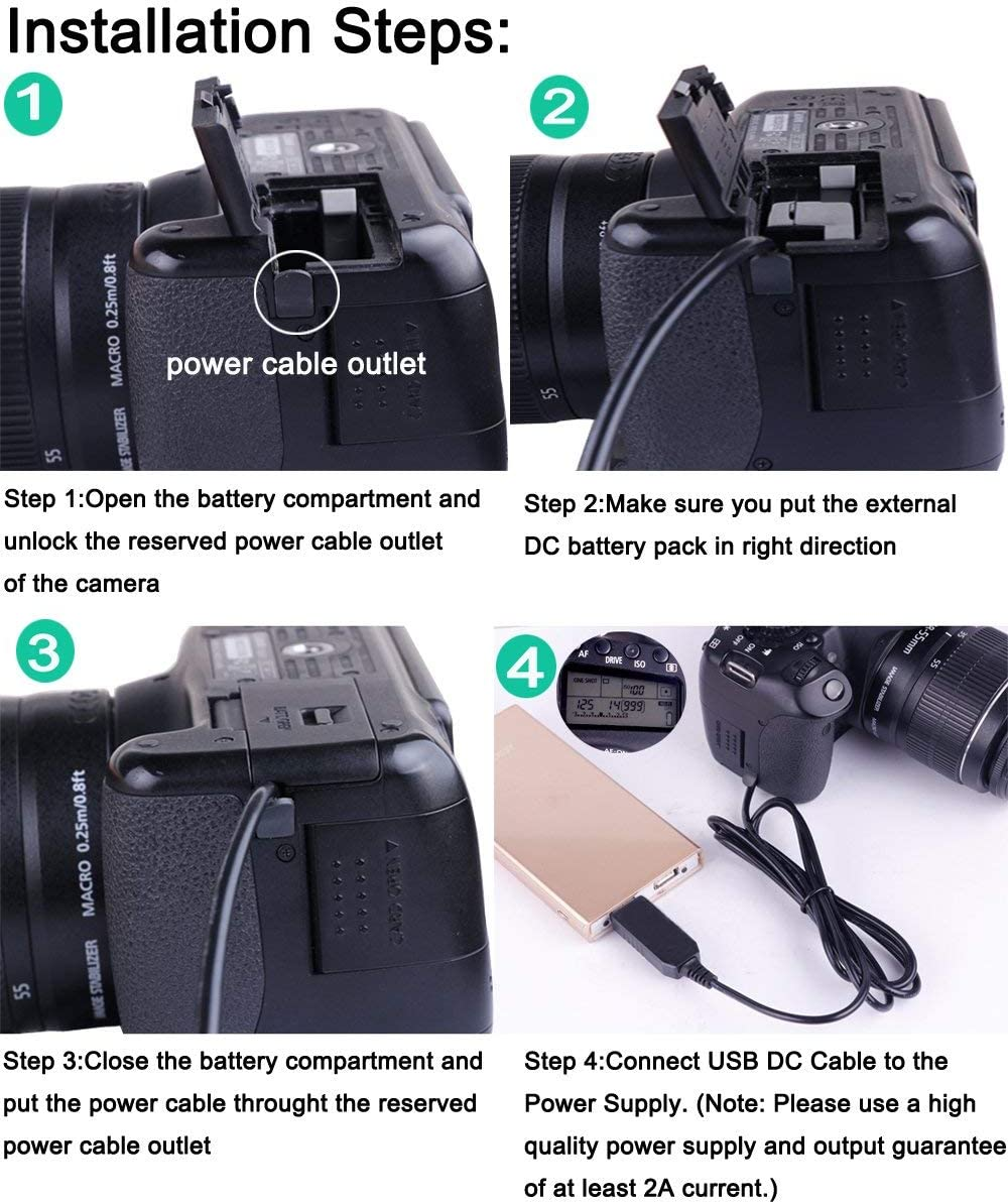 DK-X1 DC Coupler USB Power AC Adpater Kit Replacement for NP-BX1 Dummy Battery for Sony Cybershot DSC-RX1 RX1R RX100 II RX100 III RX100 IV M2 M3 M4 Digital Cameras
