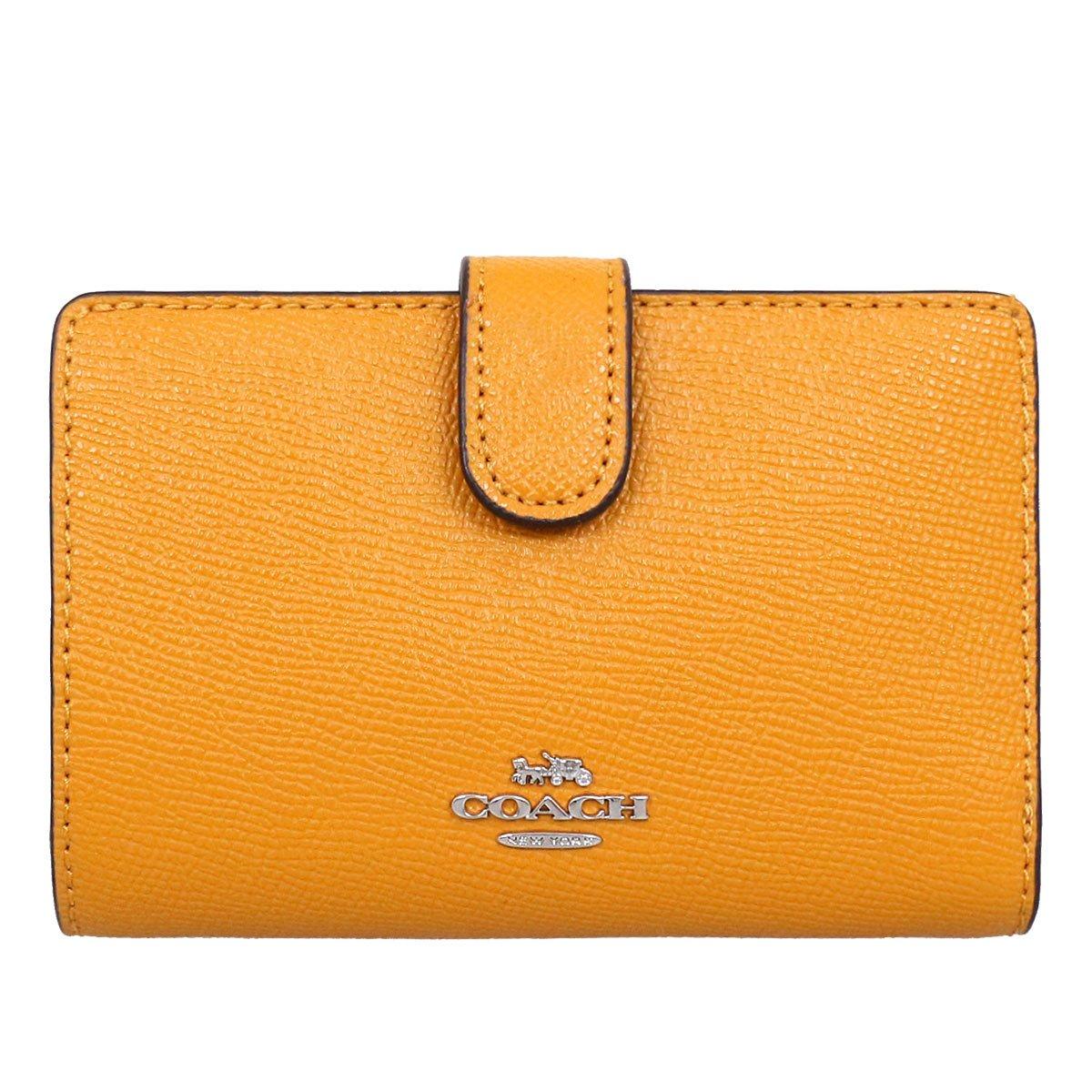 [コーチ] COACH 財布 (二つ折り財布) F11484 レザー 二つ折り財布 レディース [アウトレット品] [並行輸入品] B07DSRMVXR タンジェリン タンジェリン