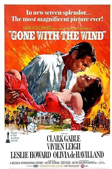 Amazon.com: Carteles EE. UU. – Gone con el viento Póster de ...