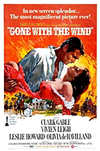 """Posters USA Gone with the Wind Movie Poster GLOSSY FINISH - MOV238 (24"""" x 36"""" (61cm x 91.5cm))"""