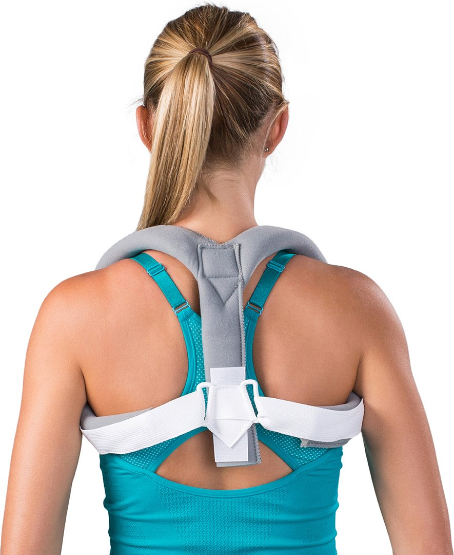 DonJoy Clavicle Posture Support Brace, One Size Fits Most