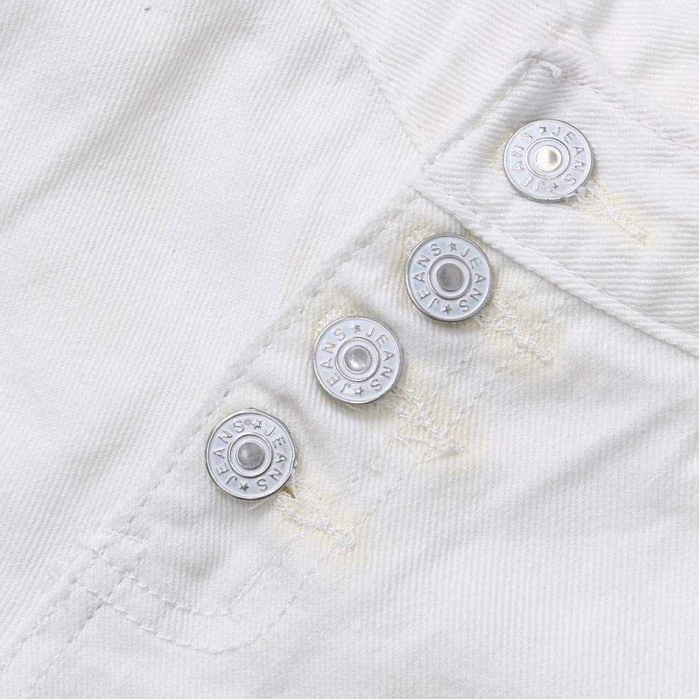 GridNN Womens Denim Shorts Cuffed Short Jeans Pants