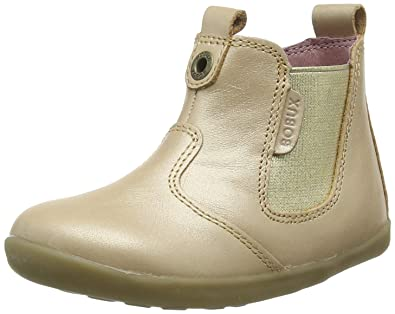 Bobux Kids Baby Girl s Step Up Jodphur Boot (Infant Toddler) Champagne  Shimmer 18 cbfb107a58