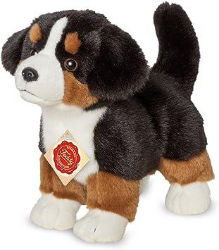Teddy Hermann 919308 Berner Sennenhund Welpe Stehend Plusch 23 Cm Amazon De Spielzeug