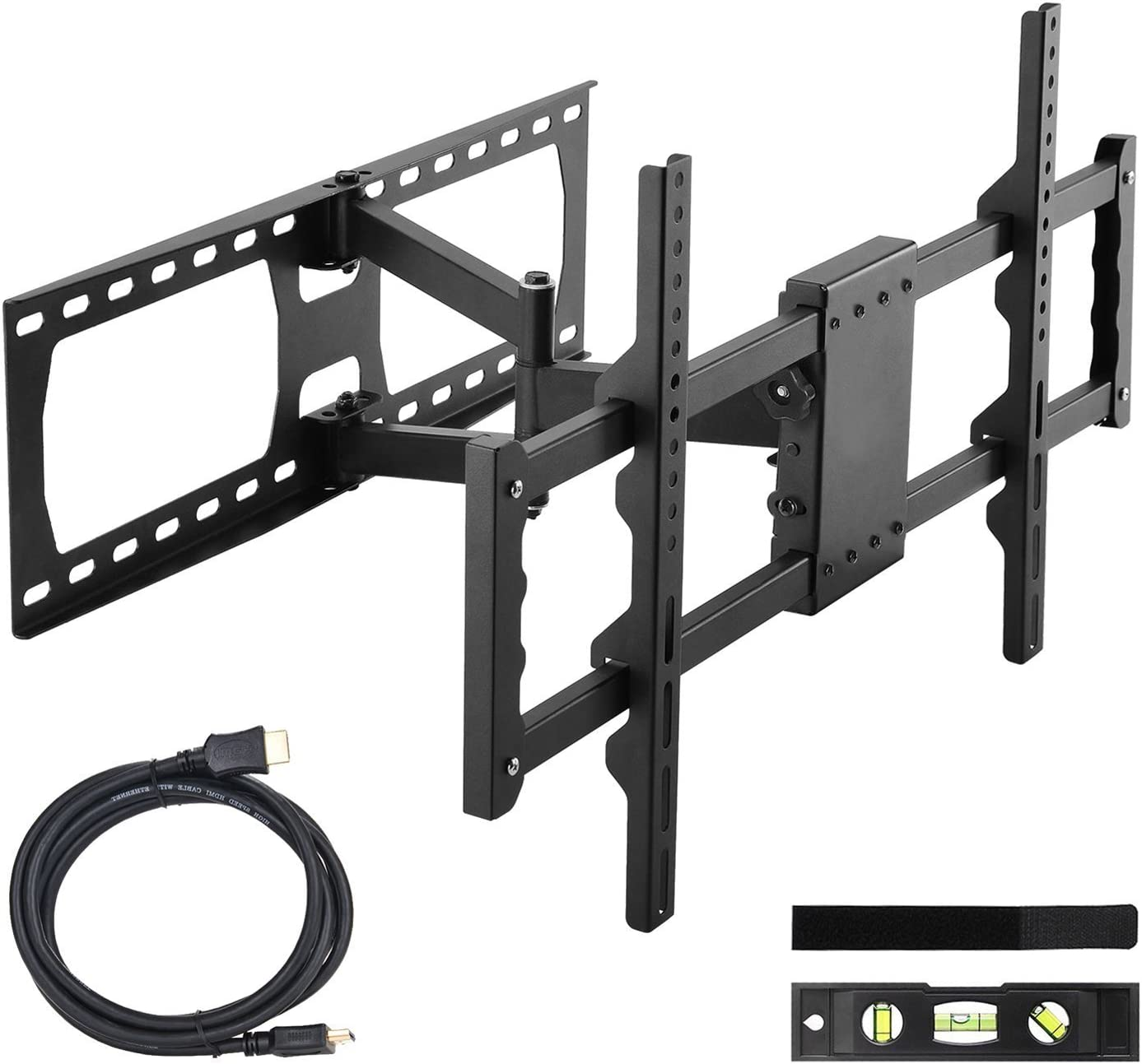 ORIENTOOLS Tilting TV Wall Mount Bracket for Most of 23-56 Inches TVs with VESA 400x400mm and Loading Capacity 66 lbs -15/° Tilt