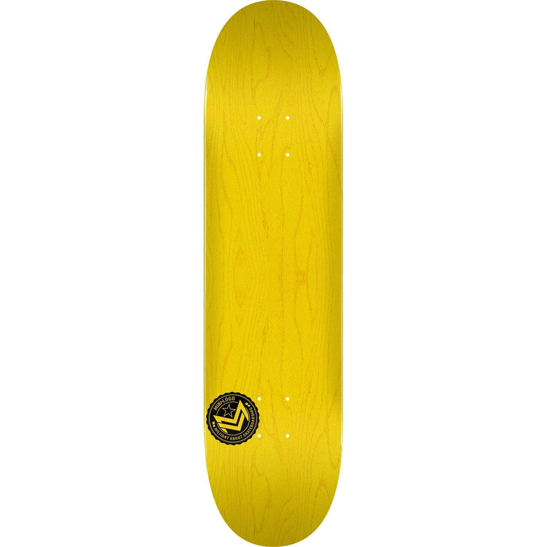 mini-logoデッキ249 / K - 20 – 8.5 Chevronスタンプイエロー – Assembled as complete skateboard   B07CPMZSSR, ユーアイビークル 59080812