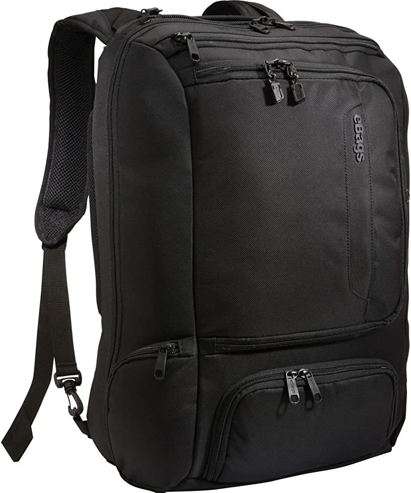 eBags Professional Weekender Carry-On Backpack for Travel Business – TSA Friendly – Fits 18 Inch Laptop