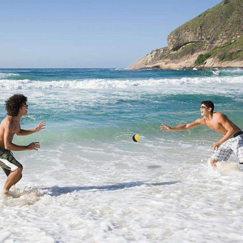 Anti-Cracking Soft und Starke Bounce Fun Wasser Sports Spiel f/ür Familie und Freunde YIDAINLINE Wasser Bouncing Ball f/ür Pool /& Meer 2,17 Zoll