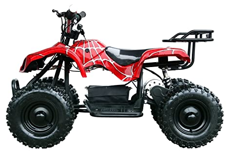 "zxtdr eléctrico 4 cuatro ruedas ATV Mini Quad para niños | 6 ""Tire 24"