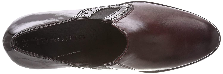 Tamaris Damen 24411-21 Stiefeletten Rot Rot Stiefeletten (Bordeaux 549) 2f99c2