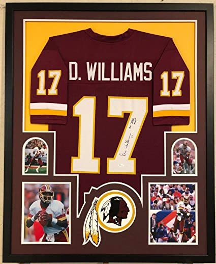 Image Unavailable. Image not available for. Color  Framed Washington  Redskins Doug Williams Autographed Signed Insc Jersey JSA a751a7d39