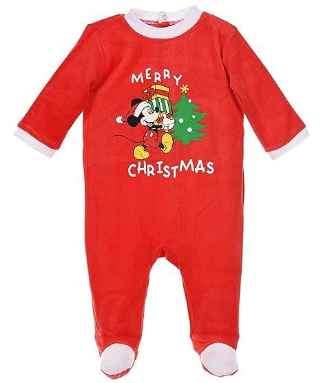 negozio online 7c1b3 4af97 Pigiama Natale bambino, motivo Topolino, abete e regali da 3 ...