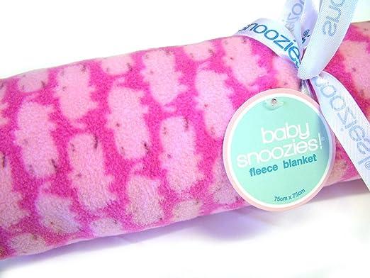 Saco de dormir infantil Snoozie forrado con suave tela de Body de forro polar para con mangas para bebé - de color rosa para hipopótamos: Amazon.es: Bebé