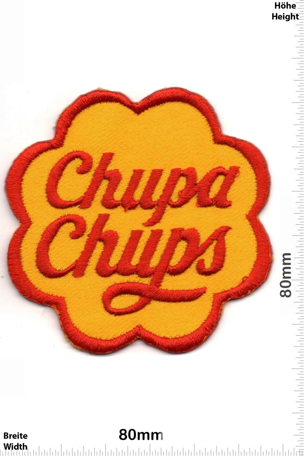 Chupa Chups Mix Patches Applique embroidery /Écusson brod/é Costume Cadeau- Give Away Iron on Patch Vest Patches Brands